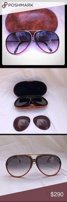 6df84d68ab6b PORCHE CARREA VINTAGE SUNGLASSES Real rare vintage 1980s PORCHE made by Carrera  sunglasses. They are