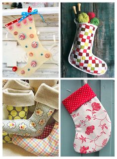 Christmas Stockings — 10 Easy and Unique Patterns