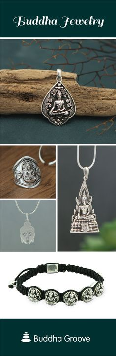Artisan jewelry made with the inspiring image of Buddha. Shop pendants, earrings, necklaces and more at Buddha Groove Buddha Jewelry, Jewelry Bracelets, Necklaces, Artisan Jewelry, Crochet Earrings, Jewelry Making, Pendants, Pendant Necklace, Accessories