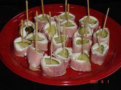 Heerlijke hapjes met ham