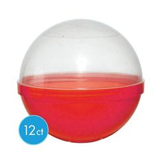 Red Ball Favor Container