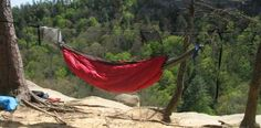 Just Jeff's Homemade Gear - Hammock Engineer's Red River Gorge Quilt  Outside and under insulation for cooler weather camping