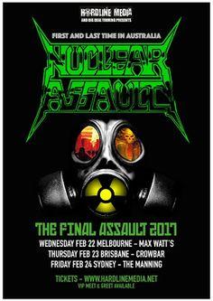 Long Live The Loud 666: NUCLEAR ASSAULT THE FINAL ASSAULT 2017 AUSTRALIAN ...
