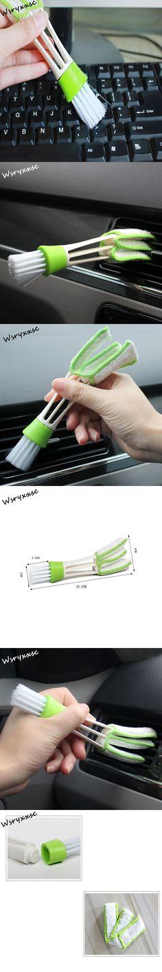 Car Accessories Clean Brush Dusting Tools for Ford Focus 2 Fiesta Mondeo Kuga Citroen C4 C5 Skoda Octavia Rapid Superb Clean