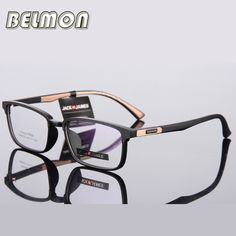 82e76557101 Spectacle Frame Eyeglasses Men Computer Optical Nerd Eye Glasses Frame For  Male Transparent Clear Lens Armacao Oculos de RS306