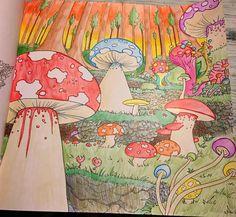 Mushroom World By Tarin Anneliese Collinson