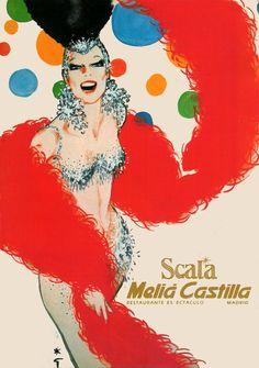 René Gruau, Scala Melia Castilla