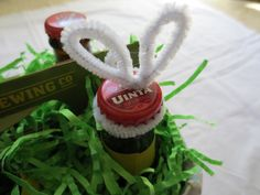 Hoppy Easter Basket for Adults