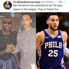 Ben Simmons is a 21-years old rookie averaging 16-8-7 on 52 FG%... does he have potential to overtake LeBron's throne as the best player in the league? - - Tags: #nba #basketball #76ers #sixers #philly #debate #comment #argue