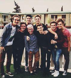 Louis Cole, Connor Franta, Alfie Deyes, Tyler Oakley, Marcus Butler, Troye Sivan, Joe Sugg & Casper Lee. ITALY.