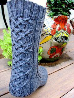 Ravelry: Strider Sock pattern by Claire Ellen