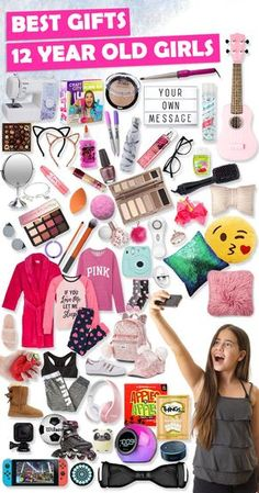 Tons Of Great Gift Ideas For 12 Year Old Girls