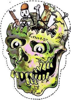 Halloween Skull Mask Project -...