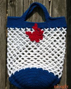 Yet Another Market Bag - free crochet pattern!