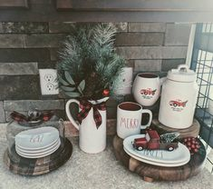 Cute Christmas dishes