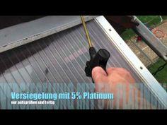 Optimum Versiegelungen - Plexiglas-Vordach reinigen und versiegeln