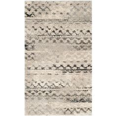 Buy the Safavieh Cream / Grey Direct. Shop for the Safavieh Cream / Grey Retro X Rectangle Synthetic Power Loomed Contemporary Area Rug and save. Retro Home Decor, Cheap Home Decor, Top Retro, Construction Crafts, Synthetic Rugs, Mid Century Modern Decor, Transitional Decor, Rug Material, Accent Rugs