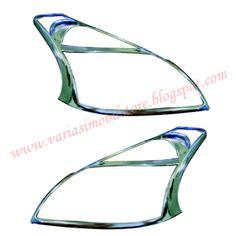 Garnish Depan / Cover Headlamp ini khusus untuk mobil All New Avanza / All New Xenia. Info Pemesanan Hubungi Budi Susanto 087722739300.