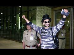 WATCH Ranveer Singh returns back to Mumbai after 3 months of vacation. See the full video at : https://youtu.be/GHVaTMfcbPY #ranveersingh