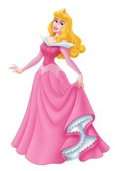 Sleeping beauty Disney princess aurora scrapbook clipart