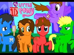 One Direction, the worldwide famous band, has there forms of cute little pony's. There first time in this world of pony's is to sing to other ponys. My Little One Direction Pony One Direction Fan Art, One Direction Lyrics, One Direction Wallpaper, One Direction Imagines, One Direction Pictures, Disney Movies 2015, Animated Movies For Kids, Weird Words, Princess Cartoon