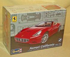 FERRARI CALIFORNIA CONVERTIBLE REVELL CAR MODEL KIT NEW 2010 85-4291 PLASTIC #Revell