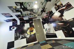 Oeuvre murale photographique exclusive sur mesure siège social Bouygues Telecom by Mel et Kio