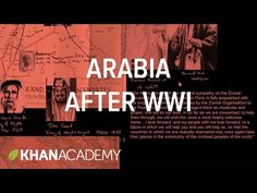 Arabia after World War I - YouTube