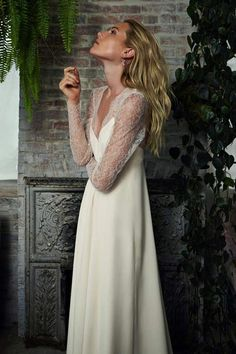 ¿Te casas? Si no sabes por qué vestido decantarte ficha estos vestidos de novia con manga larga. Son perfectos para todas las estaciones y sientan genial.