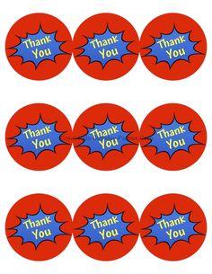 Free #Superhero Printables l Great-Kids-Birthday-Parties.com