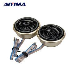 Aiyima 2pcs 2inch Audio Portable Speakers Full Range 4 Ohm 3w Speaker Subwoofer Toy Speaker Bass Shock Film 100% Original Consumer Electronics Speakers