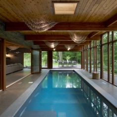 Hudson Valley Country House by Fractal Construction.