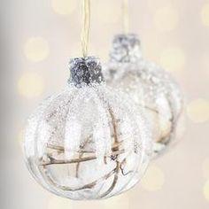 Woodland Glass Ball Ornaments 4-Piece Set - Holt Bros. Mercantile  - 1