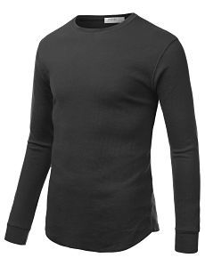 Mens Long Sleeve Thermal Shirt #doublju