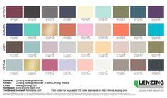Lenzing Color Trends Autumn/Winter 2018/2019 - FULL COLOR PALETTE