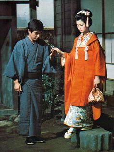 Tomokazu Miura(三浦友和), Momoe Yamaguchi(山口百恵)/ 春琴抄