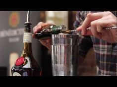 The second of Bénédictine's master mixologist competitions saw Andy Loudon, bartender at 69 Colebrook Row crowned the winner. All aspiring mixologists were r. Bartender, Red Wine, Barware, Competition, Alcoholic Drinks, London, Glass, Liquor Drinks