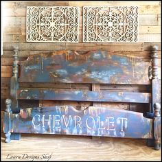 #rustic #rusticdecor #furniture #woodworking #woodfurniture #etsy #etsyseller #etsyshop #instagram #redesign #fgl #instadaily #etsysellersofinstagram #vintage #antique #interiordesign #homedecor #abs #corvette #kidsfurniture #kids #truck #chevrolet #paintedfurniture ..I painted this kids #bedroom set in a #patina style-inspired by rusty #farmtrucks .Cute for a kids who likes #trucks #cars #chevy  https://www.etsy.com/people/LunarInteriorDesigns