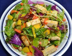 Thai-inspired vegan salad