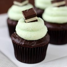 Chocolate Peppermint Cupcakes Omy yummy