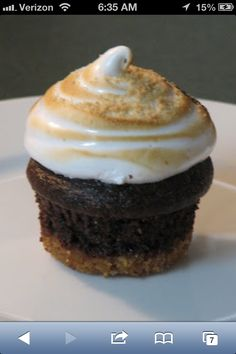Marshmallow topped