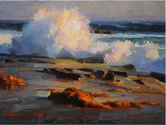 Calvin Liang - Chinese-American Painter - SEASCAPES