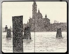 Ian Sidaway Fine Line: Venice
