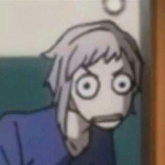 Stray Dogs Anime, Bongou Stray Dogs, Meme Faces, Funny Faces, Sapo Meme, Anime Meme Face, Anime Expressions, Funny Anime Pics, Anime Stickers