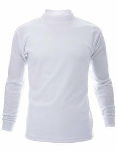Mock Turtle Neck T-Shirts