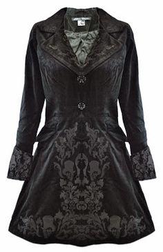 Goth Shopaholic: Stunning Winter Coats for Goths from Hell Bunny and Spin Doctor