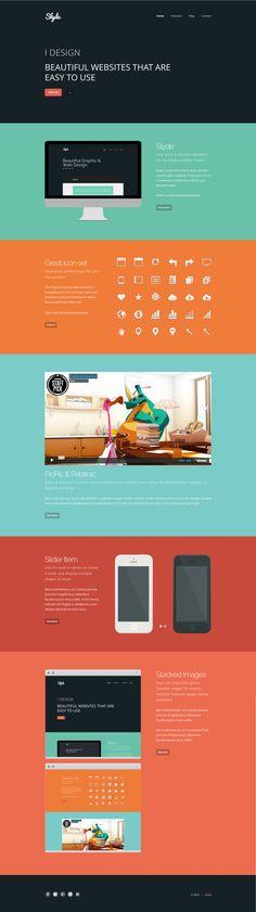 Slyde Personal Web Design Portfolio Website
