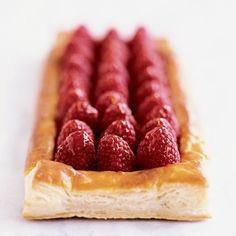 Fresh Raspberry Tart - Jacques Pepin