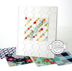 CELEBRATE card by Danielle Flanders - Scrapbook Expo - Weekly Scrapper