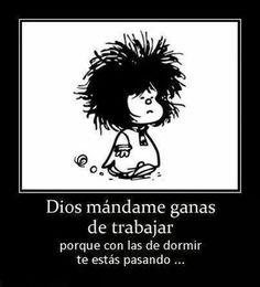 Una frase divertida de Mafalda